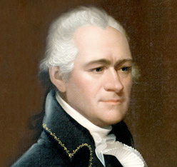 Alexander Hamilton, a Contributor to the Federalist Papers