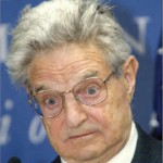 George Soros who bankrupted the Bank of England