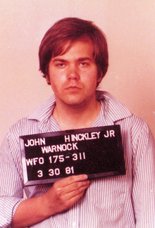 John Hinckley, Jr. Attempt to Kill President Ronald Reagan