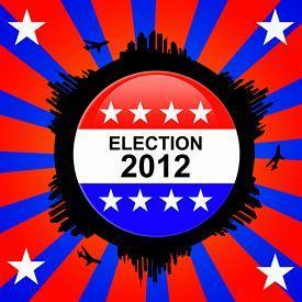 Election 2012 Badge