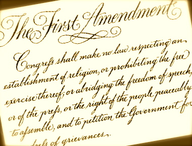 the first amendment and freedom of speech in the united states United states constitution amendments entertained by sober men that the end of all government and law which had come in france would eventually destroy the united states freedom to speak and freedom to print the first amendment here restricts congress only.