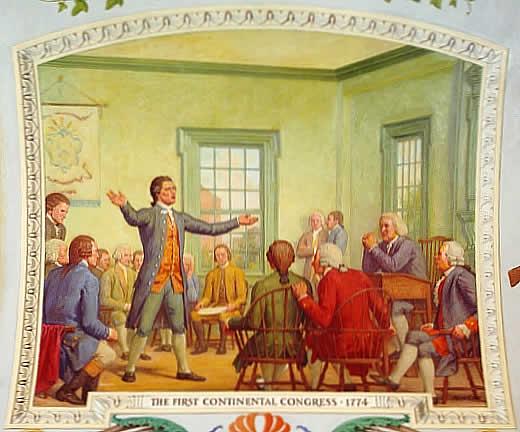the first continental congress meet