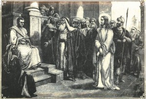 Pontius Pilate at the Trial of Jesus