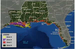 Geography Covered by BP Oil Settlement Agreement