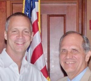 Curt Clawson and Dave Shestokas