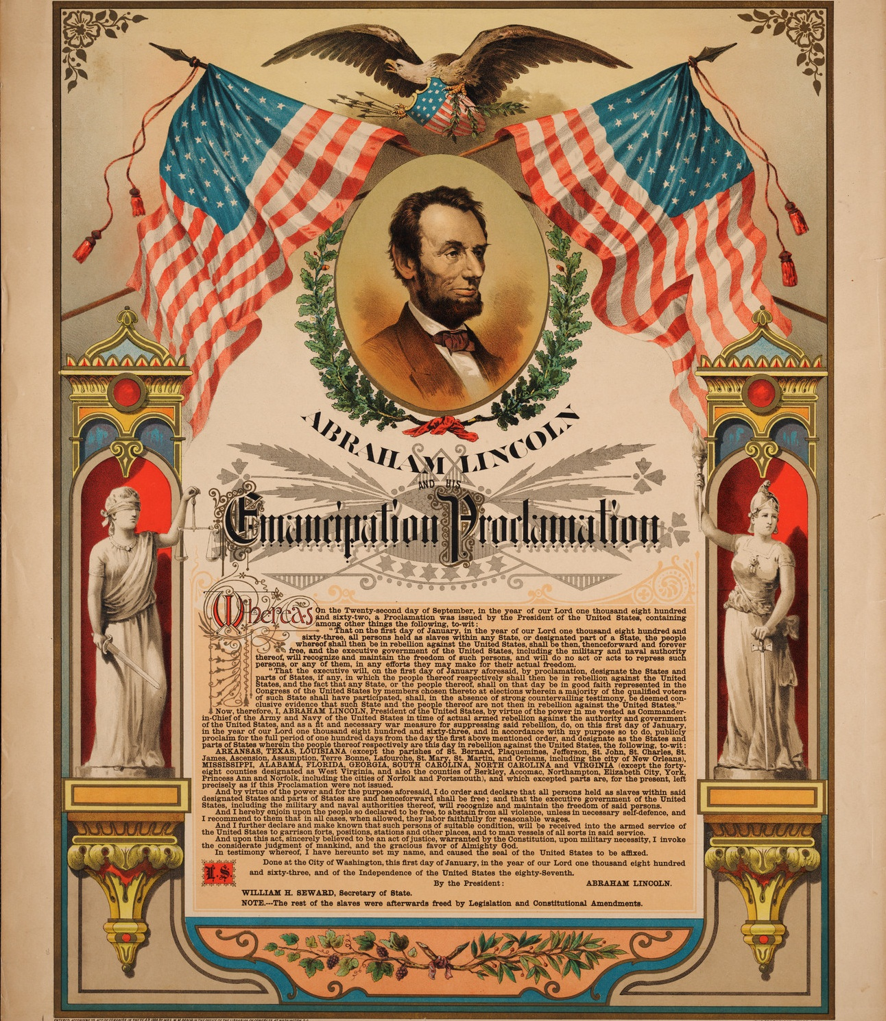 the purpose of the emancipation proclamation by president abraham lincoln The emancipation proclamation the dramatic story of abraham lincoln's greatest document and its significance in american history new york: doubleday klingaman, william k abraham lincoln.