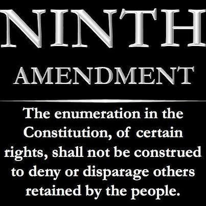 9th amendment