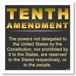 The Tenth Amendment to the US Constitution