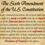 The Sixth Amendment, One Amendment, Six Constitutional Rights
