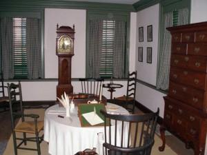 Declaration House Inside