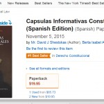Cápsulas Informativas Constitucionales Becomes #1 on Amazon