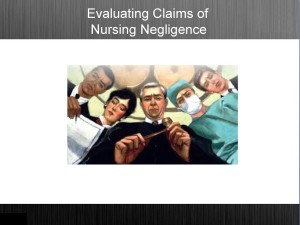 Nurses Judged by State Standards