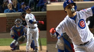 Baez homer and bubble gum