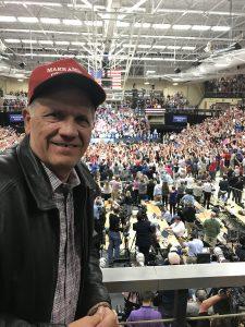 Dave At Trump Rally In Elkhart Indiana
