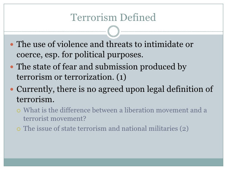 Operational Planning At The Local Level For Potential Terrorist Threats