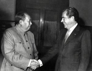 Nixon and Mao Zedong